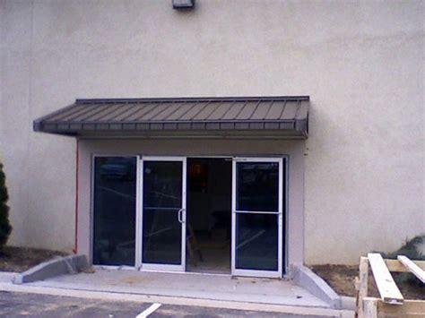 Metal Awnings   Overhead Deck Canopies and Standing Seam
