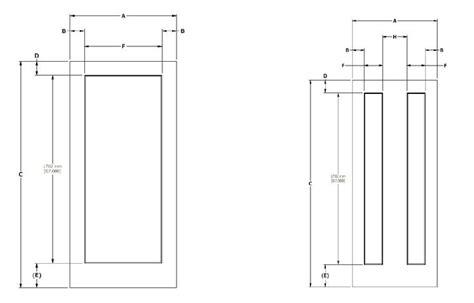 Interior Doors Dimensions Doors Dimensions Sizing Chart Quot Quot Sc Quot 1 Quot St Quot Quot Doors
