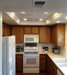 beautiful pot lights in kitchen ceiling taste convert that ugly recessed fluorescent ceiling lighting