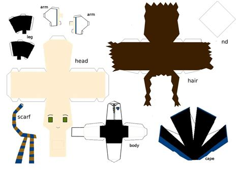 Harry Potter Papercraft Templates - ravenclaw papercraft template by randommanatee on deviantart