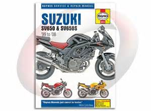 suzuki sv650 2003 2004 service repair manual amp parts
