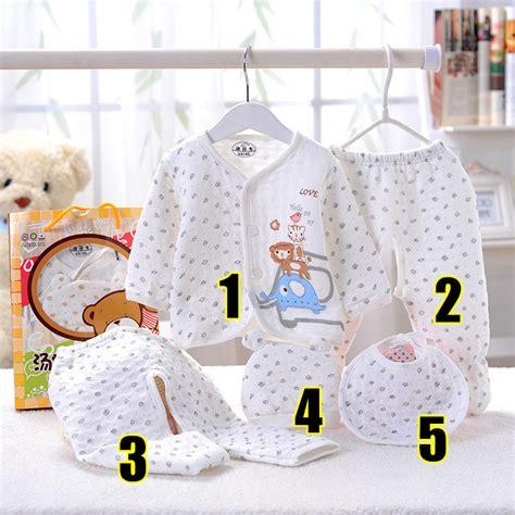 aliexpress buy baby 5pcs set newborn 0 3m clothing set baby boy clothes 100 cotton