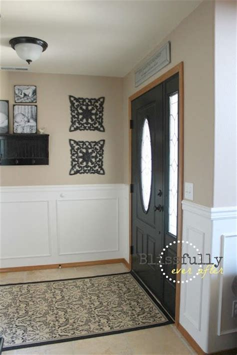 White Wainscoting With Wood Trim 25 best ideas about brown interior doors on brown home office paint brown kitchen