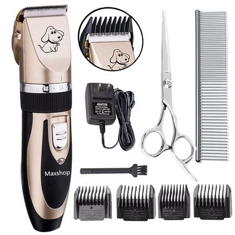 maquina para cortar pelo de perro kit de cuidado mascotas maquina para cortar pelo de perros