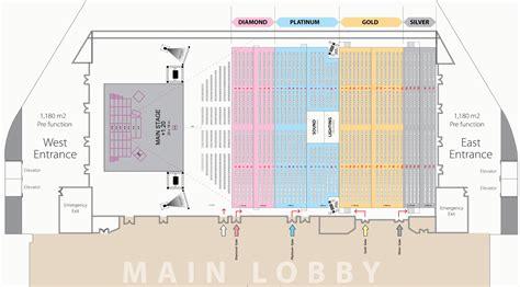 Layout Ballroom Ritz Carlton Pacific Place   ticket box estubizi andrea bocelli live in concert 15