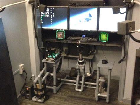 starfighter simulator cockpit diy innovative diy cockpit