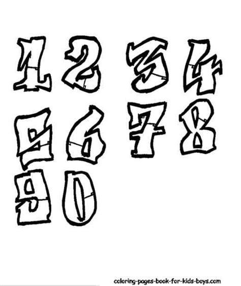 numeros en letra graffiti newhairstylesformen2014 com permanent link to graffiti sketches numbers graffitis