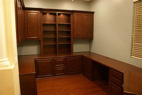 custom home office cabinets and built in desks platinum