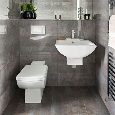 Gray Tile Bathroom Ideas Grey Tiled Bathroom Bathroom Decorating Housetohome Co Uk