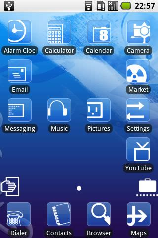 download themes for simple mobile simple blue android theme iphone android downloads