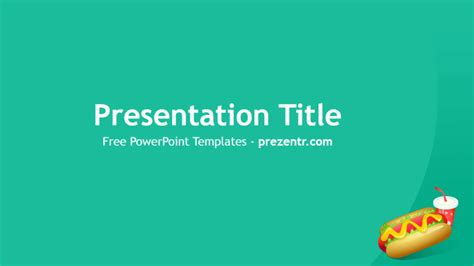 free hot dog powerpoint template prezentr powerpoint