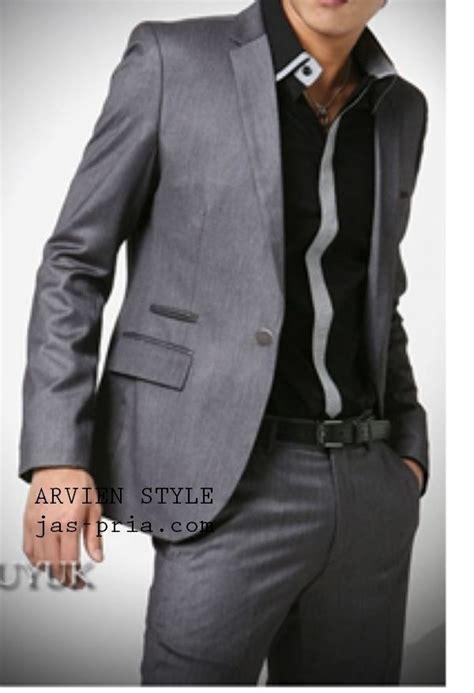 Jas Cowok Jas Exclusive Light Grey jas pria formal exclusive style info daftar harga