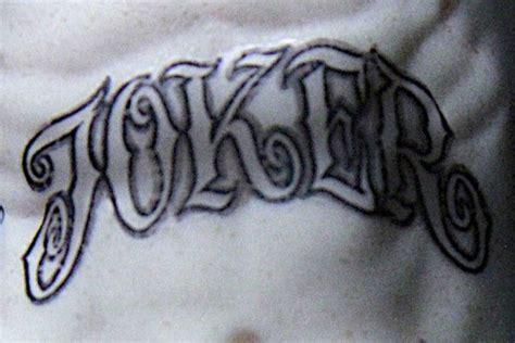 joker tattoo en el brazo escuadr 243 n suicida 191 qu 233 significan los tatuajes del joker