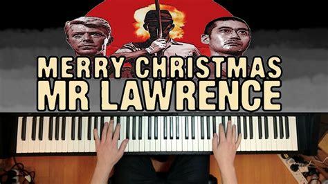 merry christmas  lawrence ryuichi sakamoto piano youtube