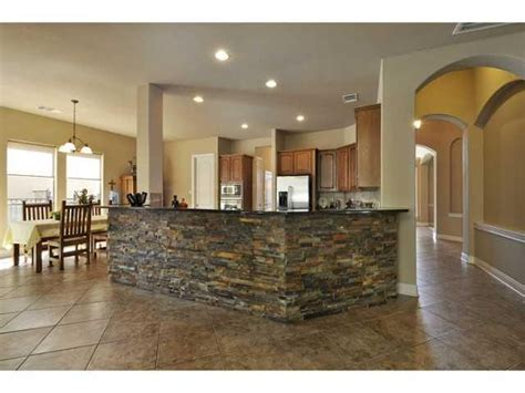 kitchen rock island 7 best images about rock work on house plans