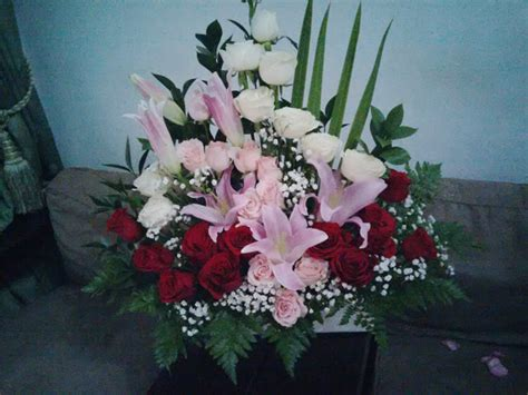 Vitrase Putih Transparan Bunga Lebar 200 Cm Tinggi 180 Cm bbm 01 650rb beautiful florist toko bunga semarang