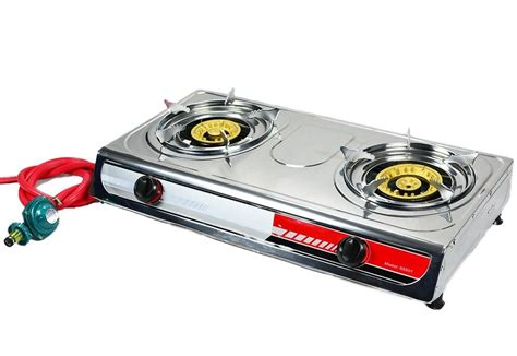 Oven Gas Portable Hock portable gas stove large propane brass burner