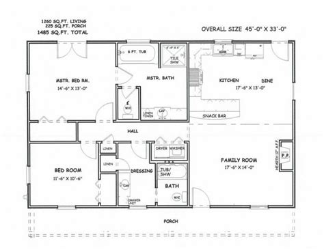 simple square open house plans house plans square