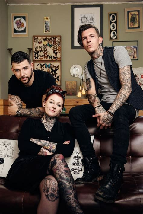 tattoo fixers lou quit tattoo fixers coming soon to e4 tattoos pinterest