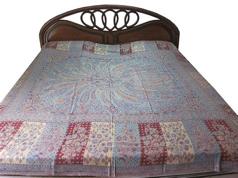 india bedding cashmere wool bedspread reversible india bedding bed cover