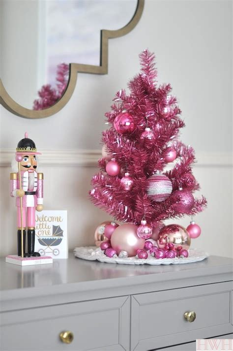 pink gold holiday nursery decor honey we re home