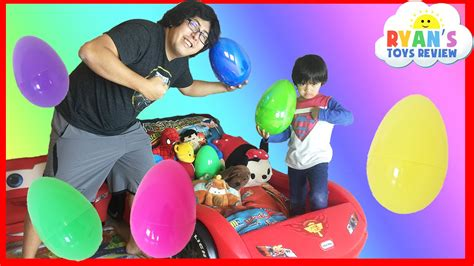 challenging toys easter eggs toys challenge disney cars toys paw patrol batman superman