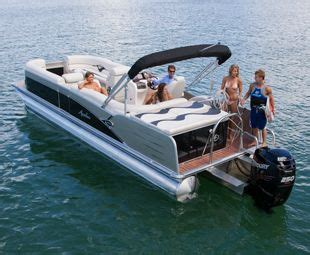 deck boat tow bar ski tow bar for pontoon boats avalon pontoon boat