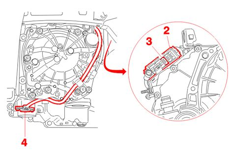 peugeot 206 automatic gearbox problems extract the green 3 way connector 3 from the modular