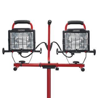 arlec 1000w halogen worklight with tripod craftsman 1000 watt halogen worklight with telescoping tripod