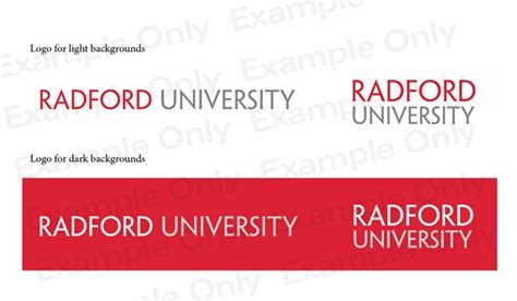 Radford Bookstore Application Graphic Identity Radford