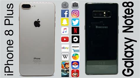 Harga Hp Samsung Galaxy Note 8 Plus tes multitasking iphone 8 plus vs galaxy note 8 beda