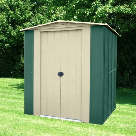 Metal Sheds 6x4 by Cousins Conservatories Garden Buildings Metal Garden Sheds