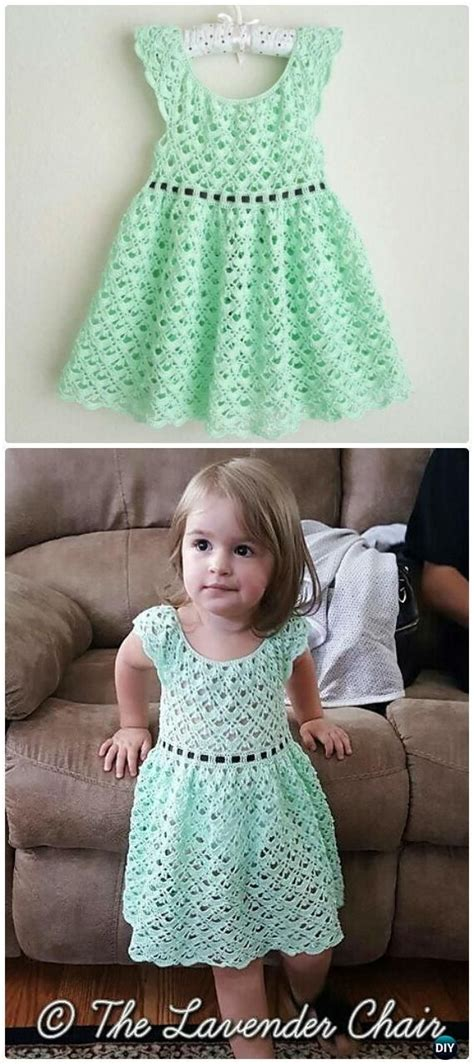 vestiditos crochet nia crochet gemstone lace toddler dress free 226 pattern