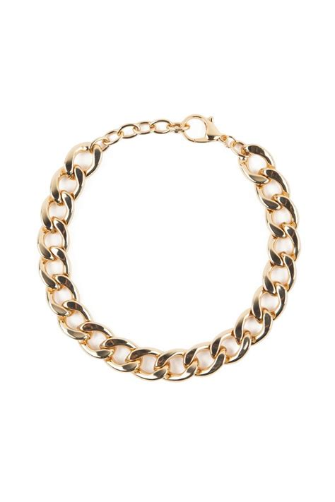 Goldie Necklace goldie link chain necklace