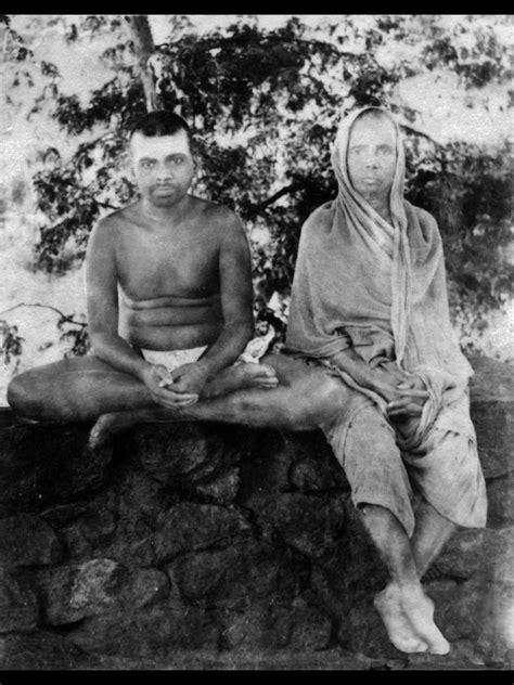 Sri Ramana Maharshi and his mother. | Ramana maharshi