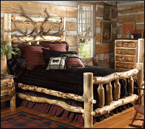 cabin bedroom decor decorating theme bedrooms maries manor log cabin