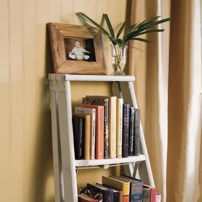 24 Ladder Bookshelf Plans Guide Patterns Ladder Style Bookcase