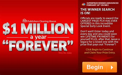 Mega Millions Clearing House Sweepstakes - million dollars a year forever how to start a lending company uk