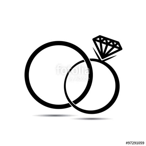 Eheringe Logo by Wedding Ring Vector Www Pixshark Images Galleries