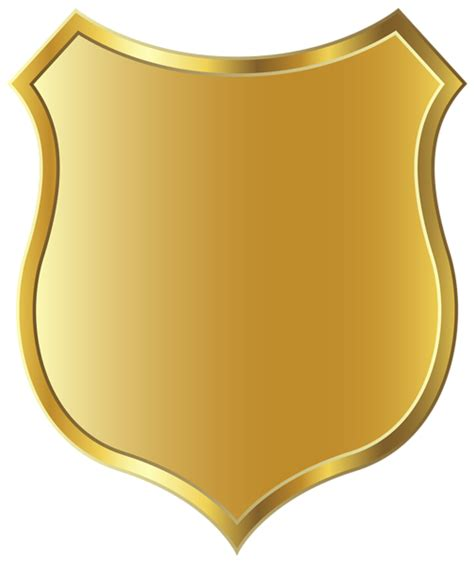 golden badge template png clipart picture backgrounds