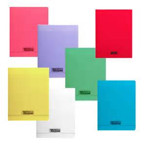 cahier 24 215 32 polypro calligraphe ligne 8000 papeterie