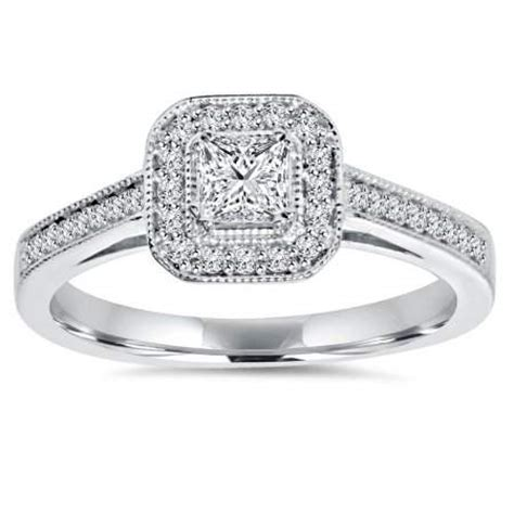 pictures on walmart engagement rings white gold