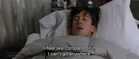 sucked to his death in bed sick ferris buellers day off gif find share on giphy