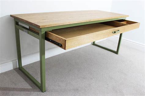 industrial office desk bespoke vintage style industrial office desks uk