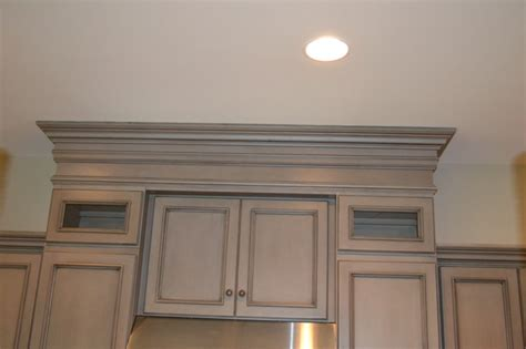 gray stained cabinets with black glaze richmond by