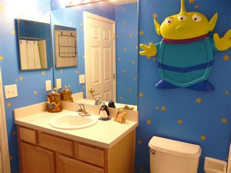 toy story bathroom themed rooms disney inspired spaces