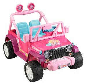 Pink Power Wheels Jeep Power Wheels Jammin Jeep Wrangler