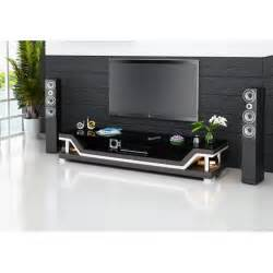 meuble tv design confrot cuir