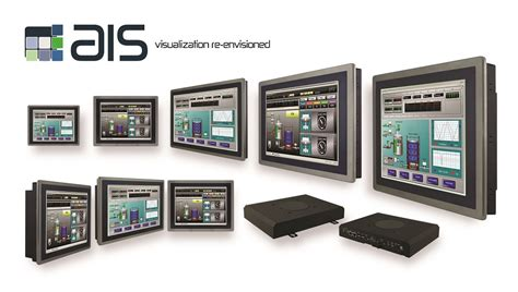 hmi touch panel industrial pc automation panel ais