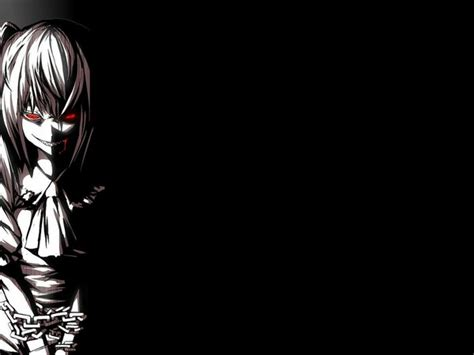 anime demon girl wallpaper scary demon girl dark anime hd wallpaper 486299 free hd